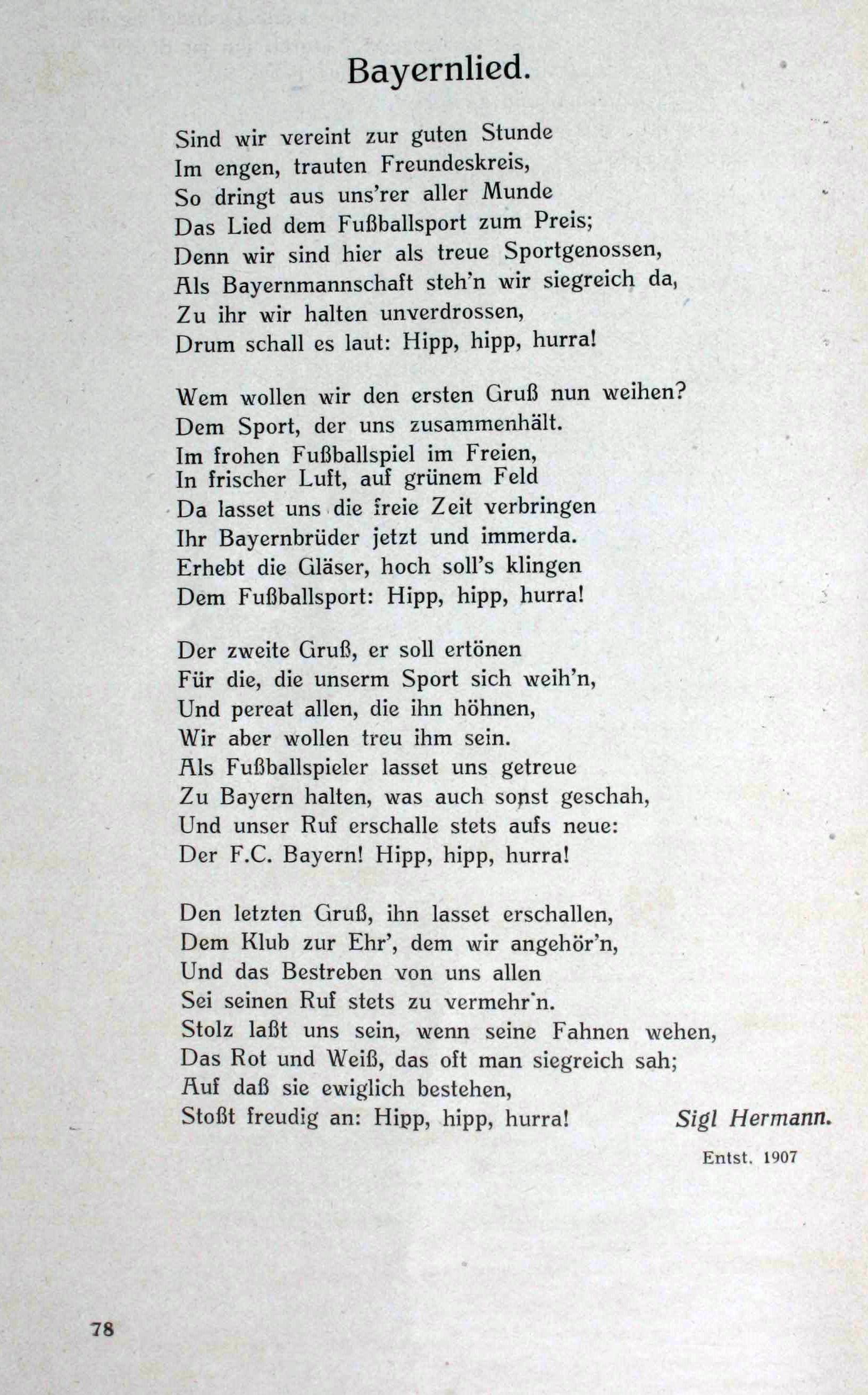 fc bayern hymne text